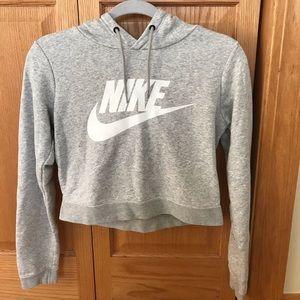 Girls Nike Cropped Hoodie Size XS